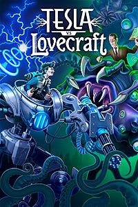 Tesla Vs Lovecraft/>         <br/>         <p itemprop=