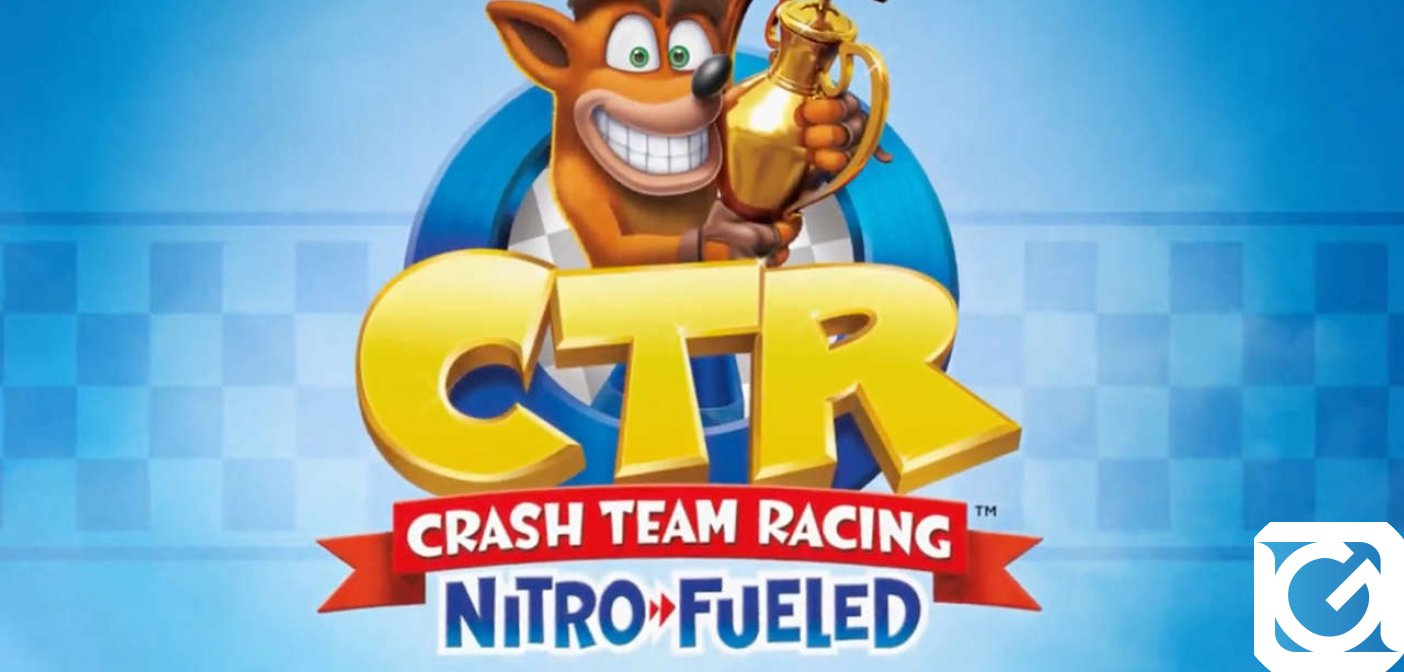 Crash torna in Crash Team Racing Nitro-Fueled
