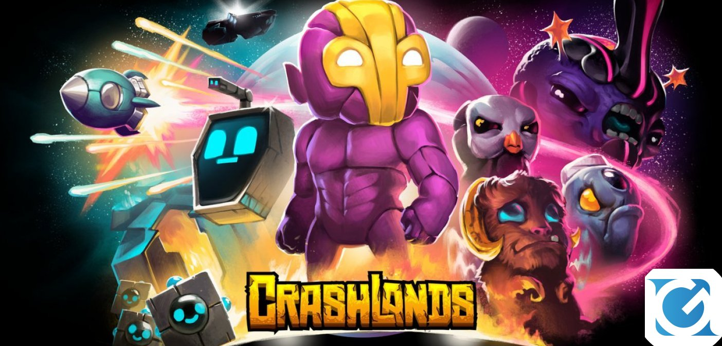 Crashlands arriva su Nintendo Switch l'8 novembre