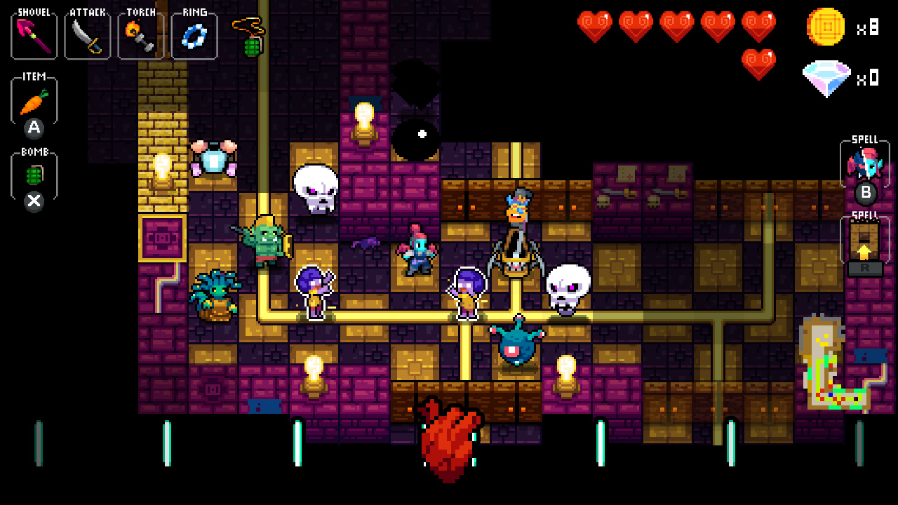 Crypt of the Necrodancer Nintendo Switch Edition