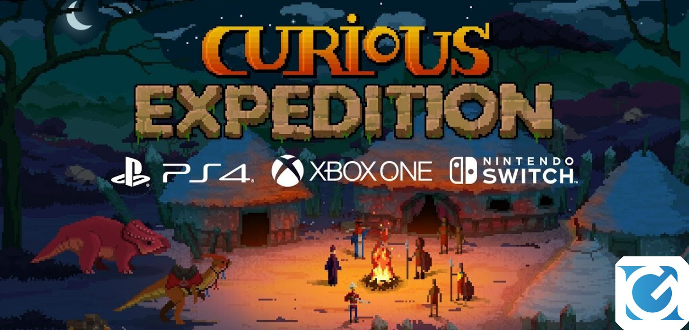 Curious Expedition è disponibile su console