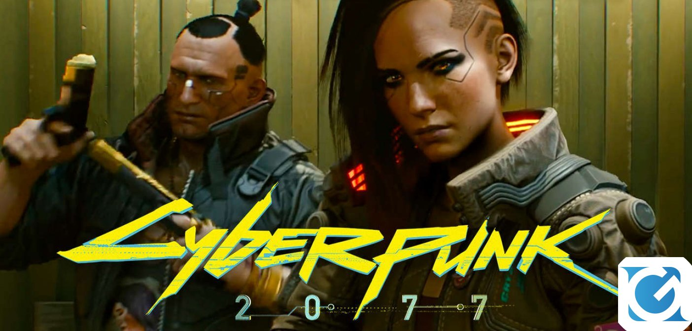 Cyberpunk 2077 si mostra in un lungo video gameplay