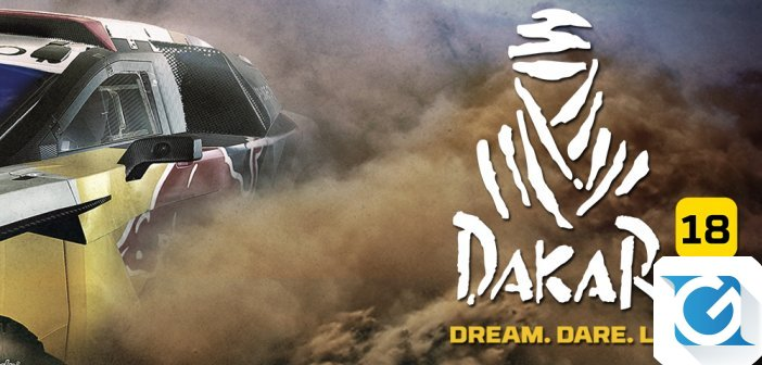 Bigmoon Entertainment e Deep Silver annunciano DAKAR 18