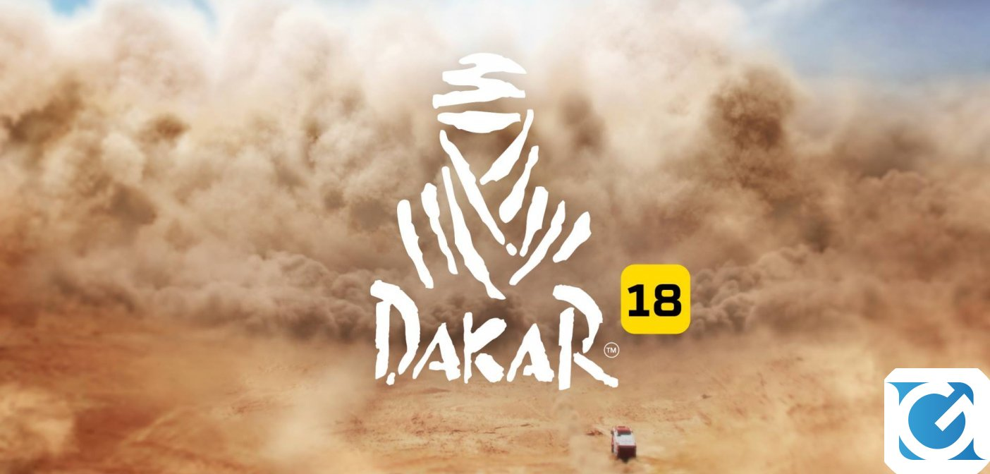 Dakar 18 e' disponibile per PC e console