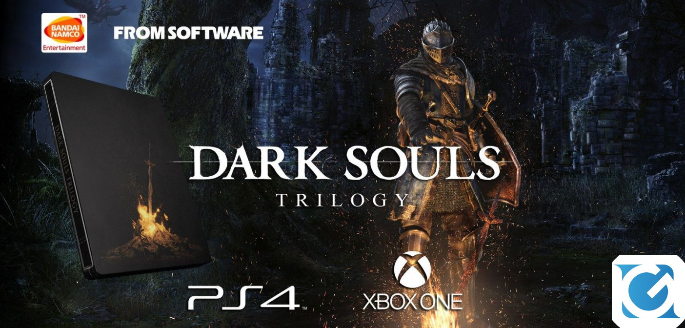 La DARK SOULS TRILOGY è disponibile!