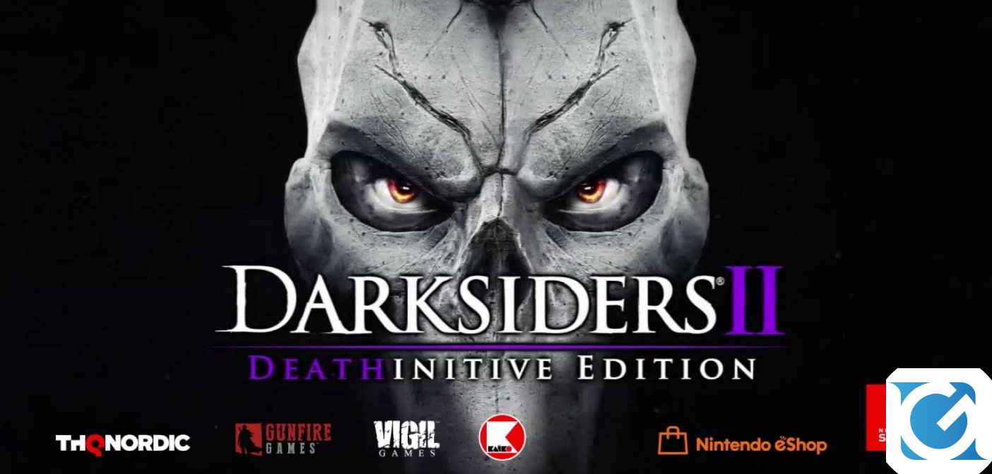 Darksiders II Deathinitive Edition arriva su Switch il 26 settembre