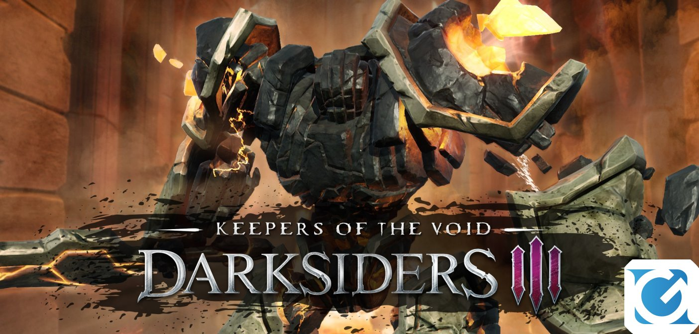 Keepers of the Void è disponibile per Darksiders III