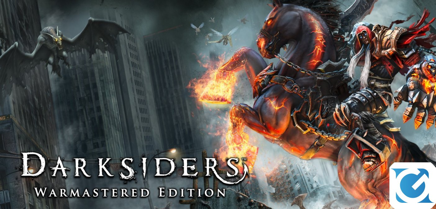 Darksiders Warmastered Edition è disponibile su Switch