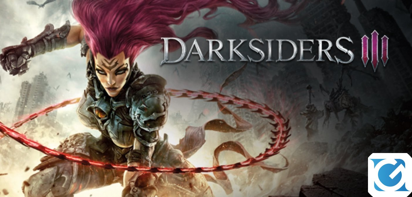 Darksiders III è finalmente disponibile per Playstation 4, XBOX One e PC