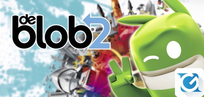 de Blob 2 e' disponibile per XBOX One e Playstation 4