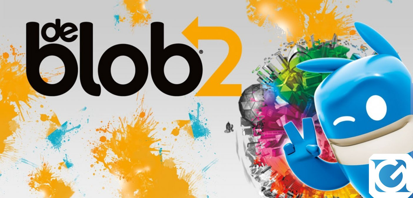 de Blob 2 e' disponibile su Nintendo Switch