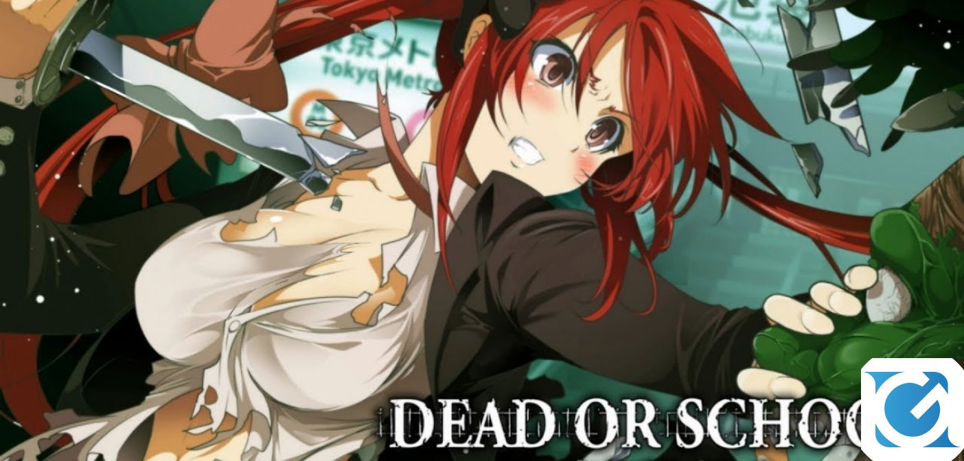 Dead or School arriverà su Switch e PS4 a marzo
