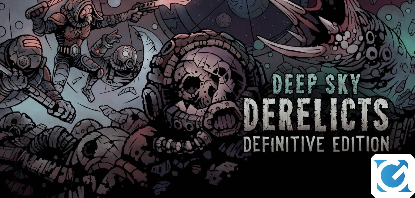 Deep Sky Derelicts: Definitive Edition arriva oggi su PC e console