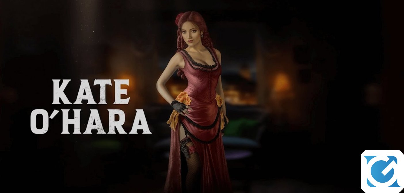 Desperados III: disponibile il nuovo trailer di Kate O'Hara