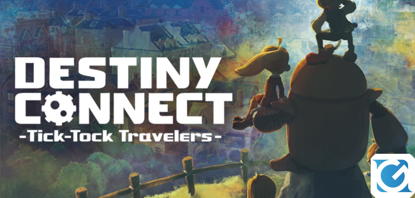 Destiny Connect: Tick-Tock Travelers arriva in autunno su PS4 e Switch