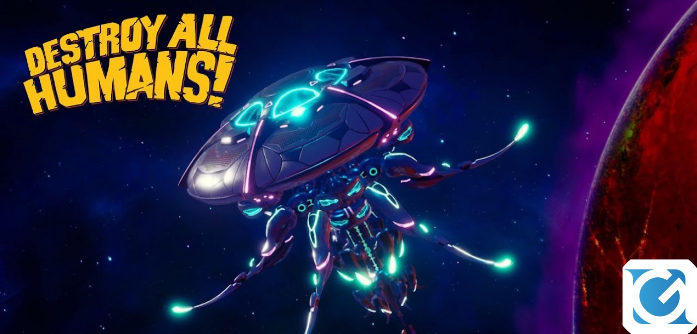 Destroy All Humans! arriverà su Nintendo Switch a giugno