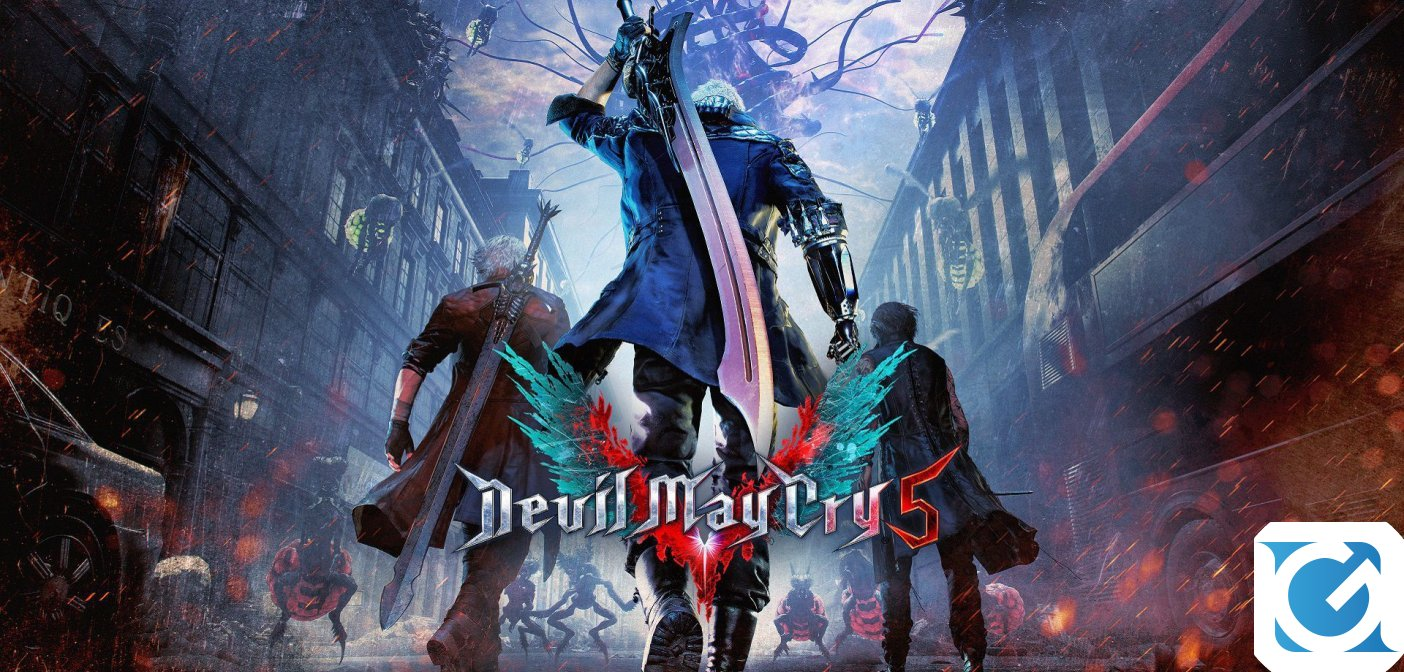 Devil May Cry 5 è disponibile per PC e console