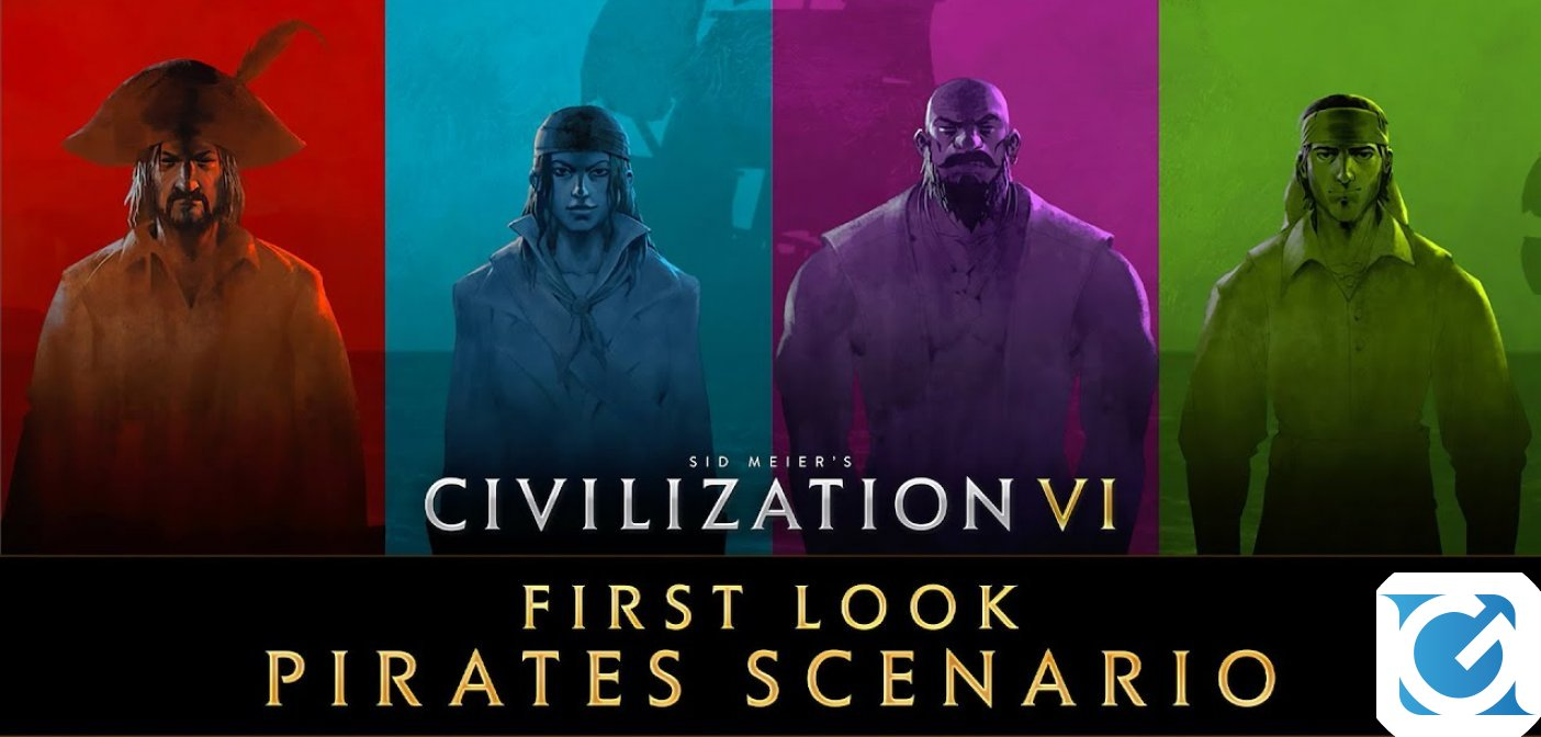 Diamo un primo guardo allo Scenario dei Pirati di Civilization VI