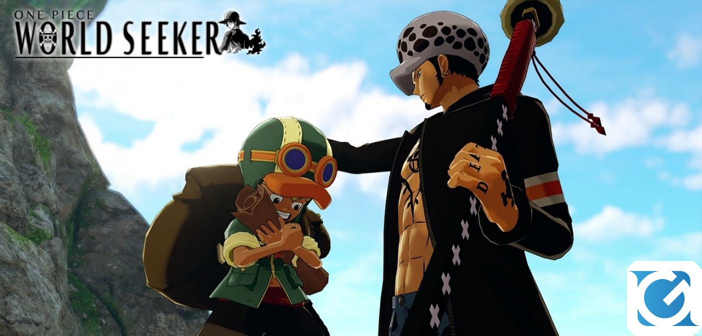 Dicembre è il mese di ONE PIECE WORLD SEEKER: The Unfinished Map