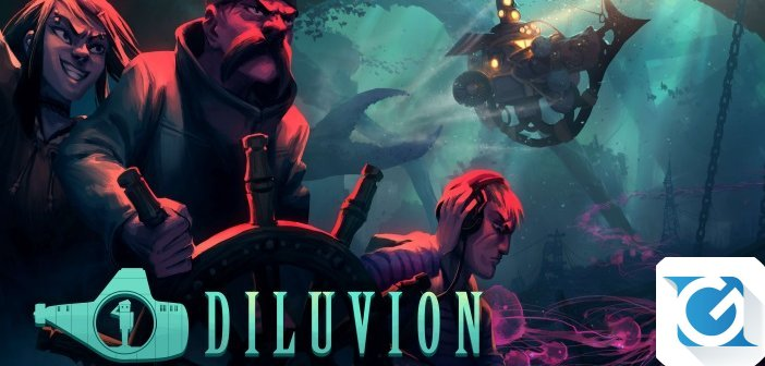 Diluvion e' disponibile da oggi su Steam