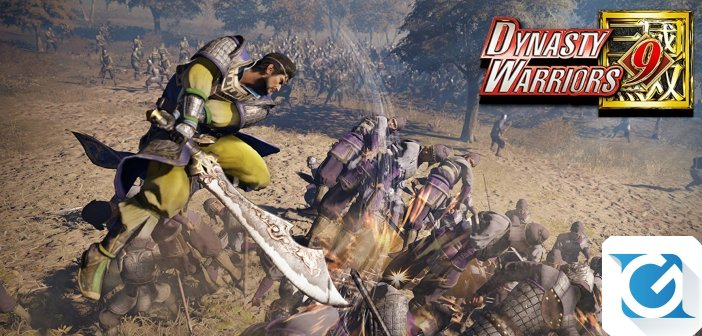 DYNASTY WARRIORS 9 e' finalmente tra noi