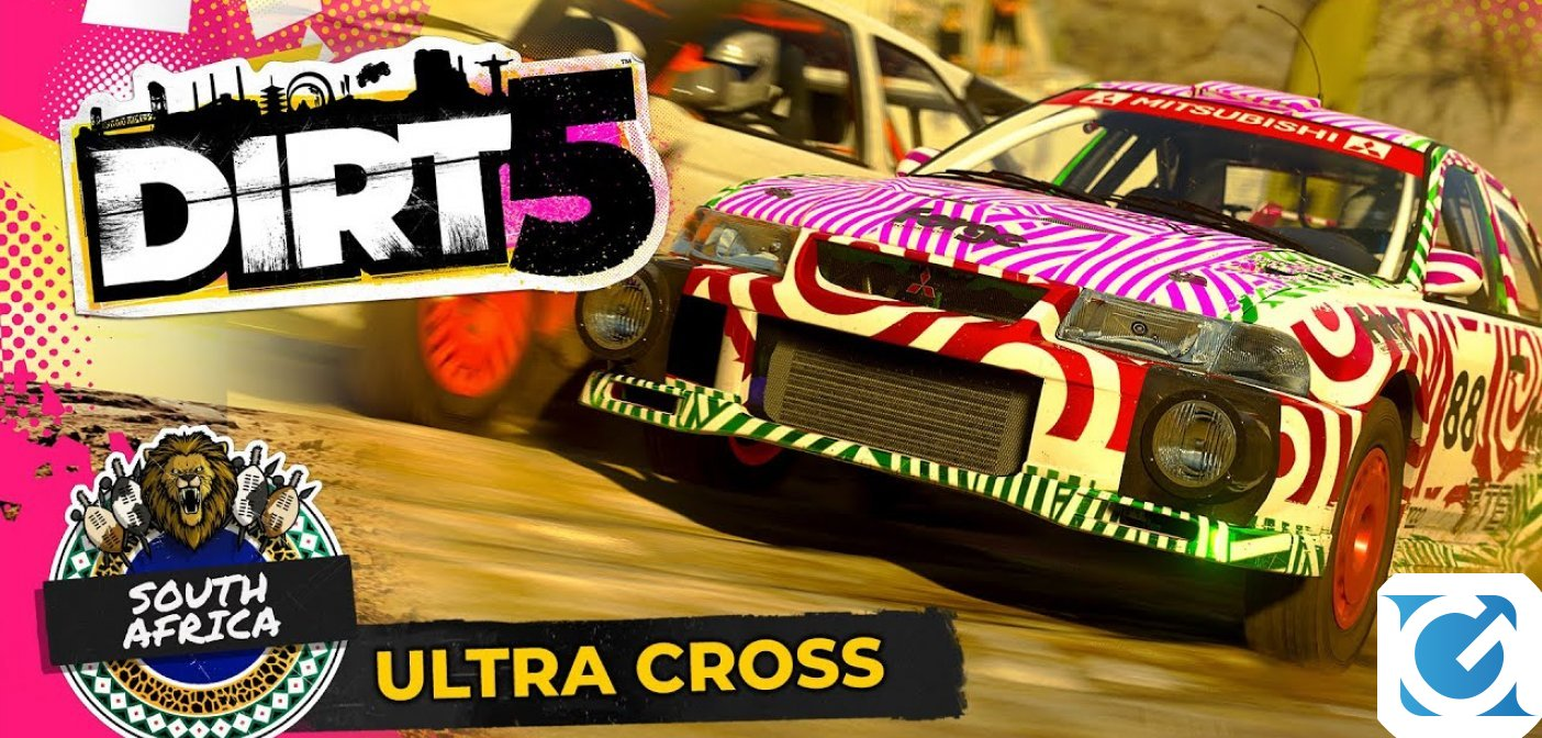 DiRT 5: corriamo a Cape Town!
