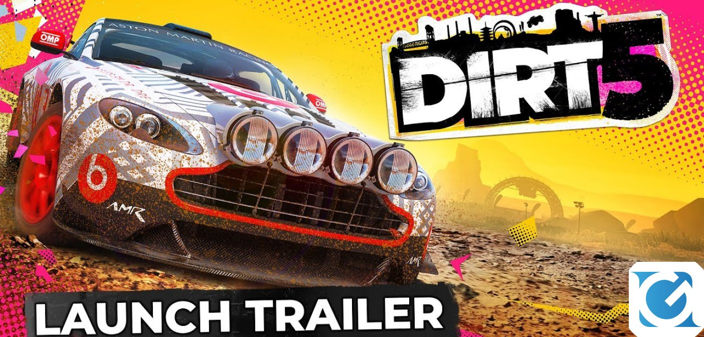 DiRT 5 è finalmente disponibile per PC e console