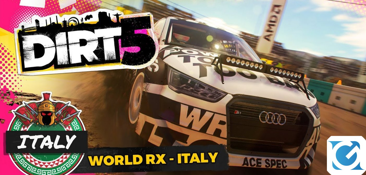 DiRT 5 torna in Italia per le competizioni Ultra Cross
