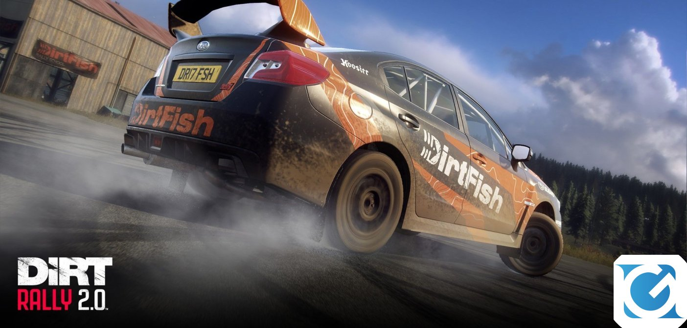 DiRT Rally 2.0 Game of the Year Edition è disponibile per PC e console