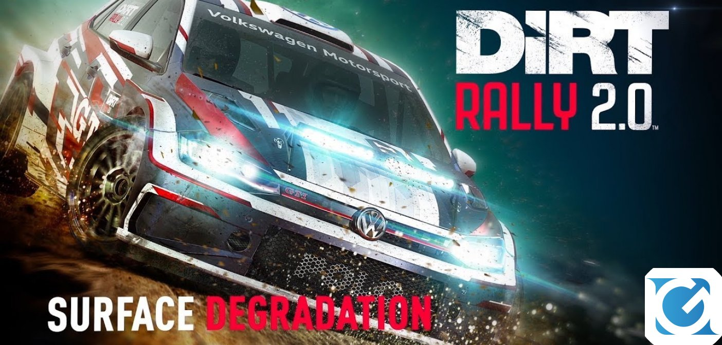 Disponibile l'ultimo dev diary di DiRT Rally 2.0