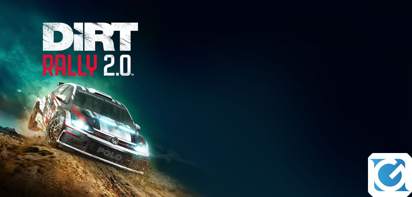 DiRT RALLY 2.0 è ora disponibile