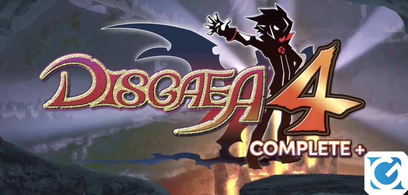 Disgaea 4 Complete+ arriva questo autunno su PS 4 e Switch