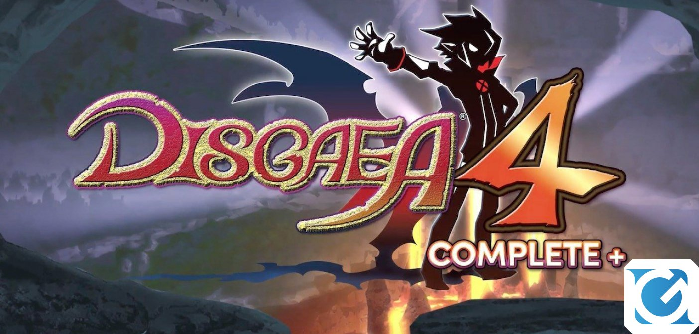 Disgaea 4 Complete+ arriva a ottobre su Switch e Playstation 4