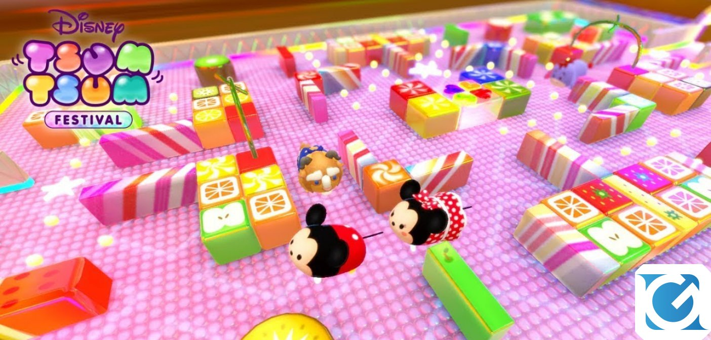Disney TSUM TSUM FESTIVAL è disponibile per Switch