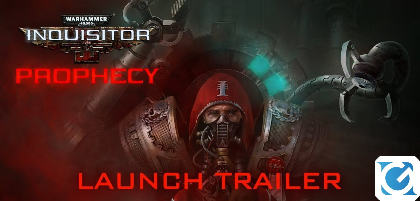 Disponibile il più grande DLC di Warhammer 40000: Inquisitor: Prophecy