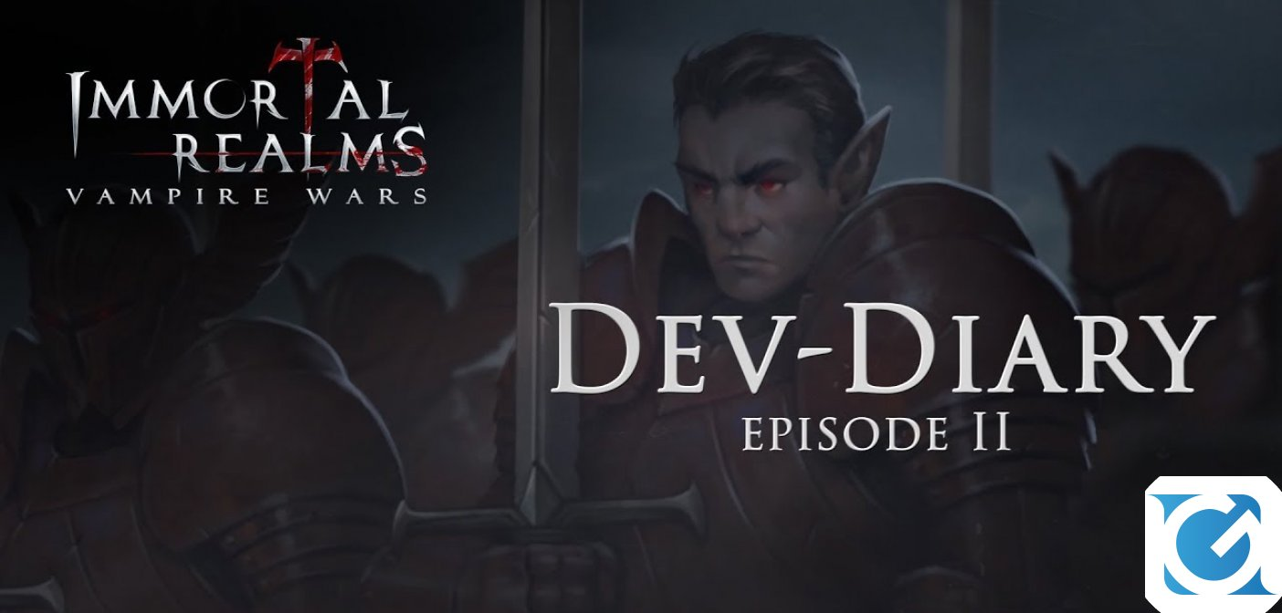 Disponibile il secondo Dev Diary di Immortal Realms: Vampire Wars