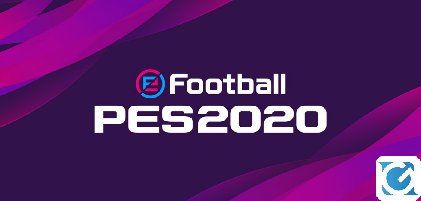 Disponibile la prima patch di aggiornamento di eFootball PES 2020