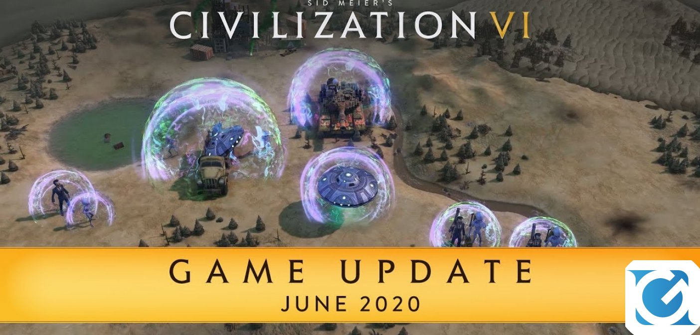 Disponibile un nuovo update per Civilization VI