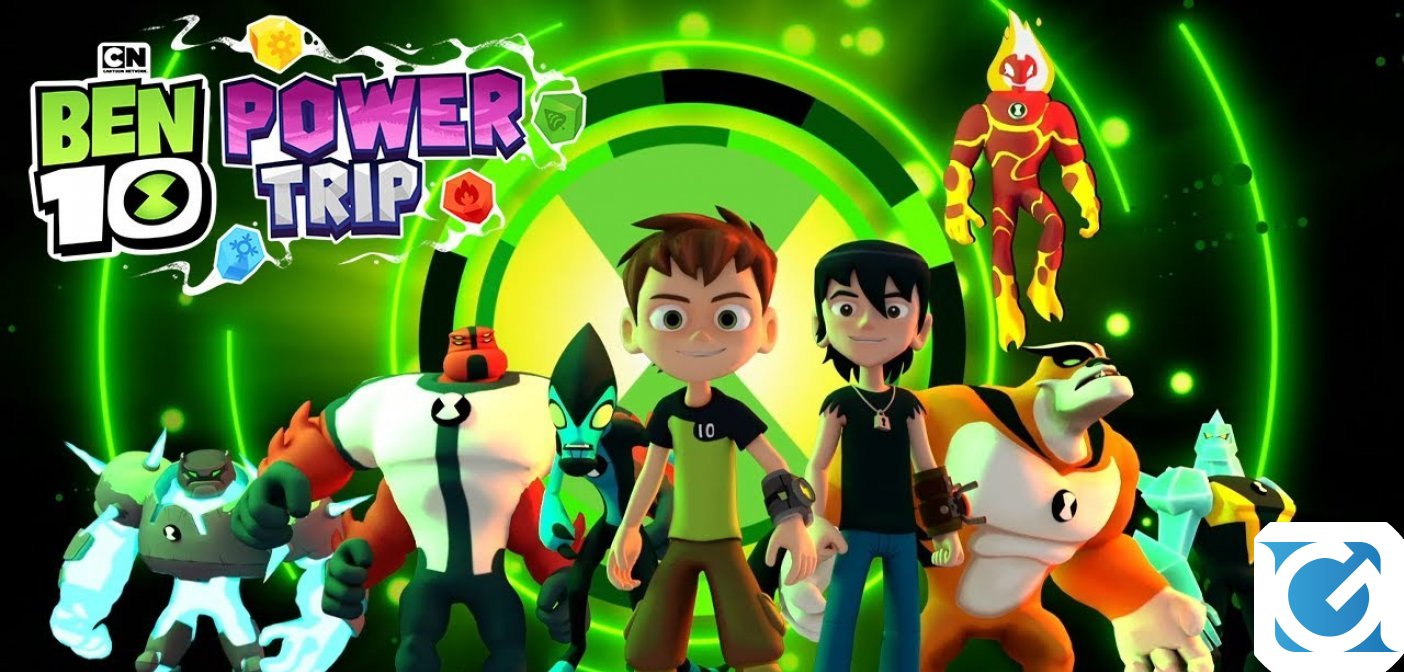 Diventa un eroe in Ben 10: Power Trip, ora disponibile per PC e console