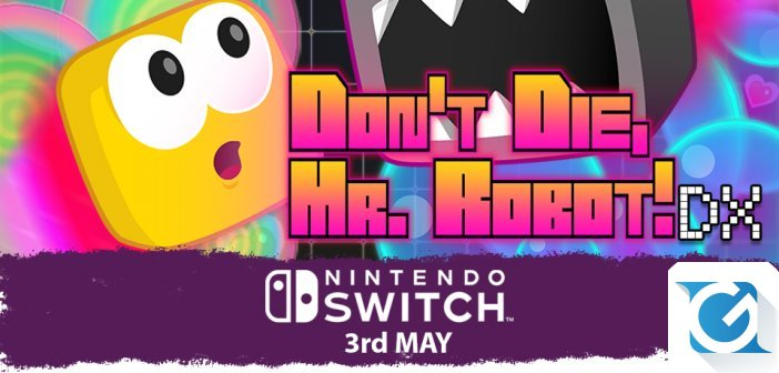 Don't Die, Mr. Robot! DX arriva su Nintendo Switch il 3 maggio