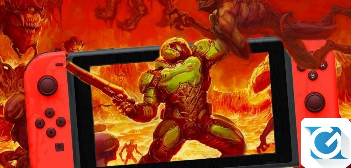DOOM per Nintendo Switch e' finalmente disponibile