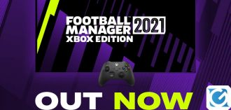 Dopo oltre 10 anni Football Manager torna su XBOX con Football Manager 2021