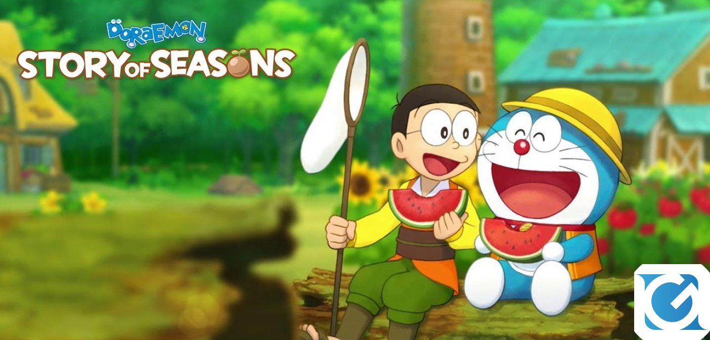 Doraemon Story of Seasons è disponibile per Playstation 4