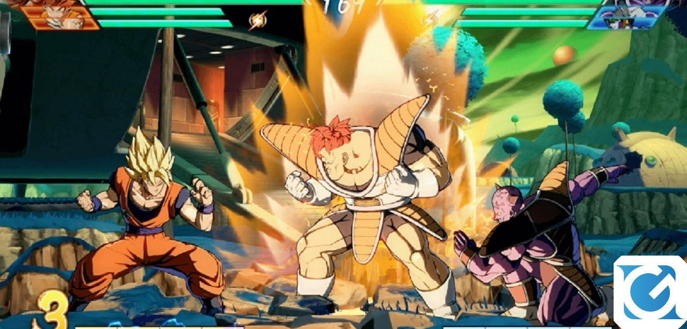 Arriva il Natale in DRAGON BALL FighterZ