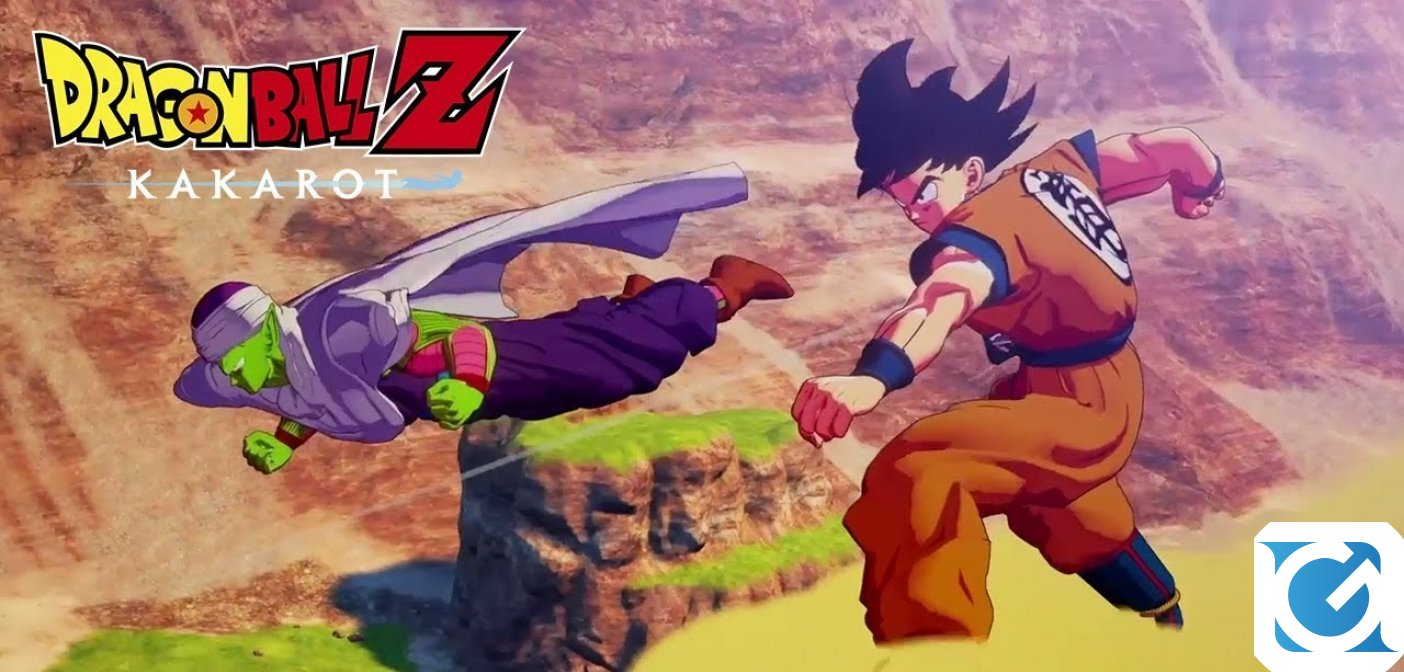 DRAGON BALL Z: KAKAROT: ecco il primo filmato di gameplay