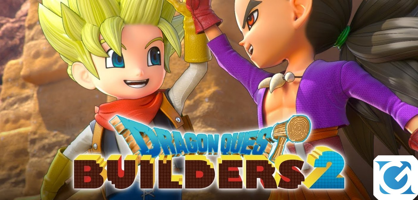 Disponibile la demo di DRAGON QUEST BUILDERS 2
