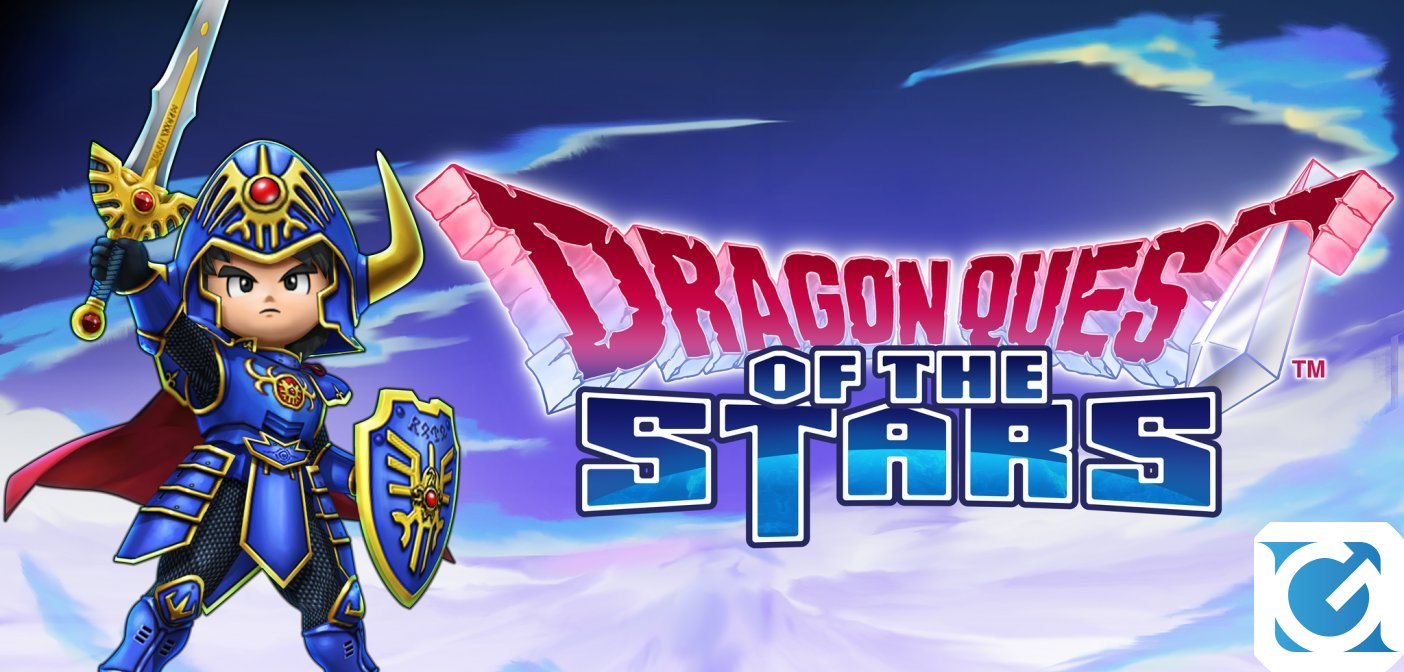 DRAGON QUEST OF THE STARS è disponibile per dispositivi mobili
