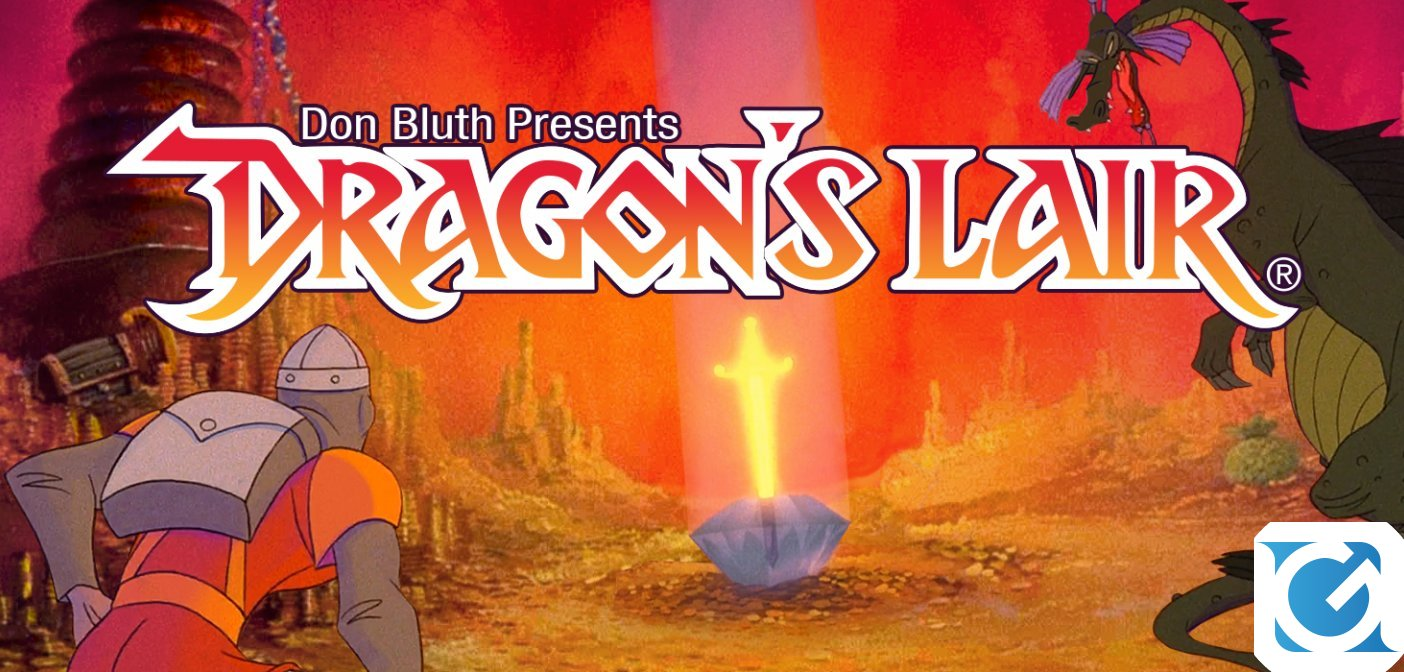 Dragon's Lair Trilogy è disponibile per Switch