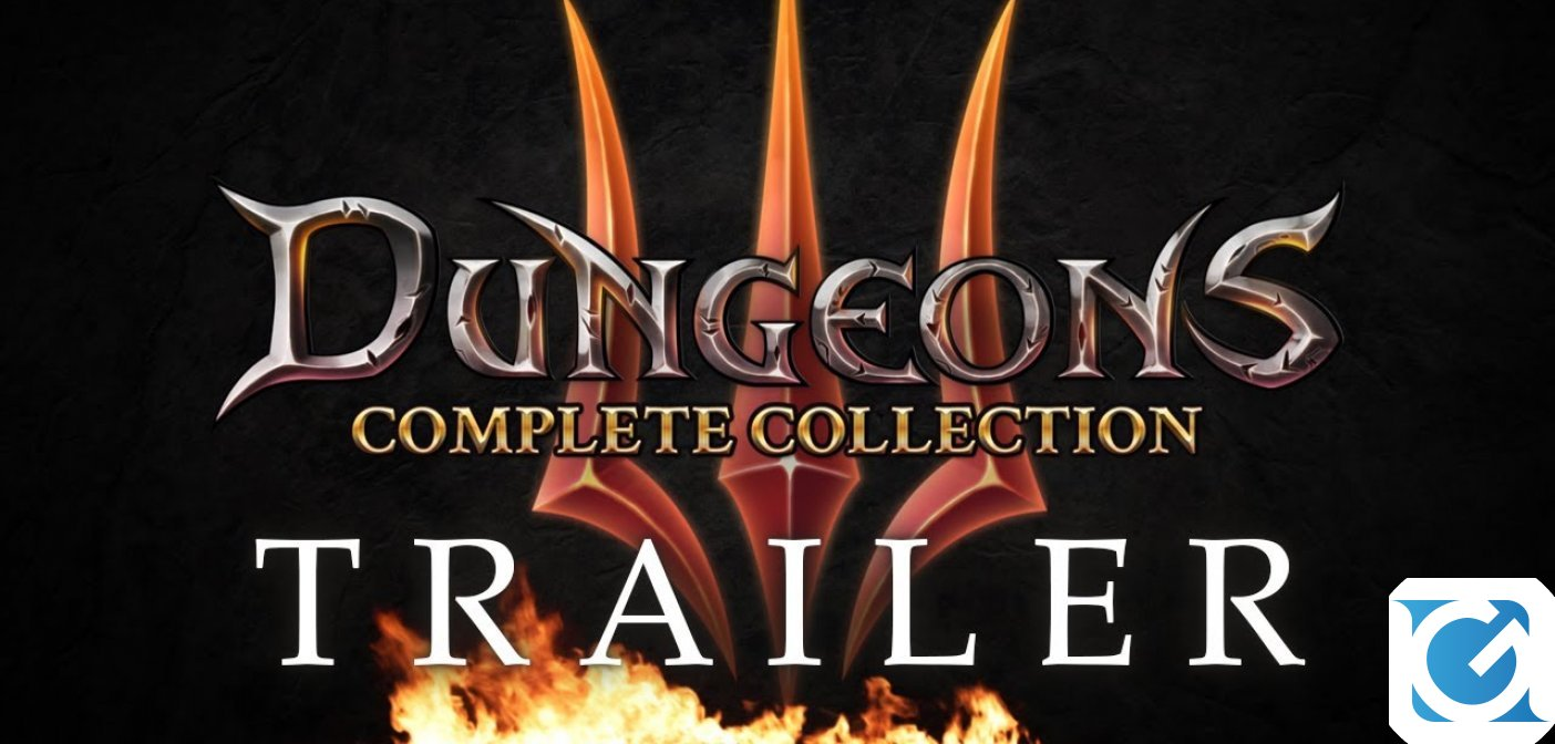 Dungeons 3 - Complete Collection è disponibile