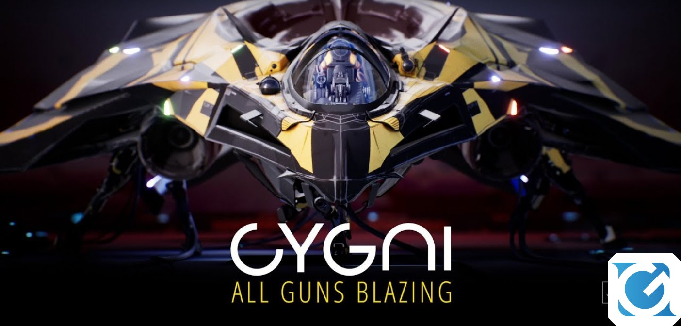 Ecco CYGNI: All Guns Blazing, un nuovo shoot 'em up per next gen e console attuali